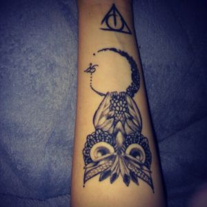 Owl and harry potter !!!