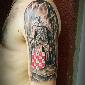 ...croatian patriot warrior tattoo