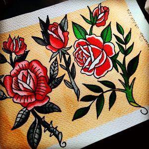 #rose #oldschool #tattoo #rosetattoo #lucasnascimento #@lucasnscia #snalucasnscia #brazil #flashtattoo #tattodoo