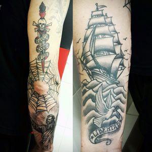 #tatuajecurado #Healed #curado #tattoo #tatuajes #argentinatattoo #tatuatge #tatouage #tatuaggio #tatuagem #tatowierung #traditionaltattoo #tradi #tradicional #tatuajetradicional