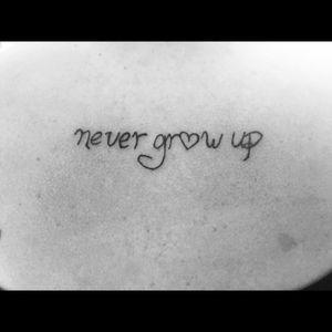 #PeterPan #nevergrowup #disney