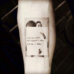 #balazsbercsenyi #blackandgrey #lettering #modernart #dotwork