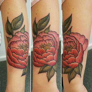 #coverup #peony #peonytattoo #japanese #japanesetattoo #flower #flowertattoo #colour #colourfultattoo #chrismorristattoos