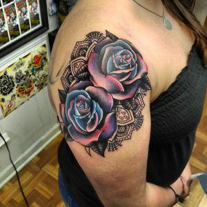 Funky roses #roses