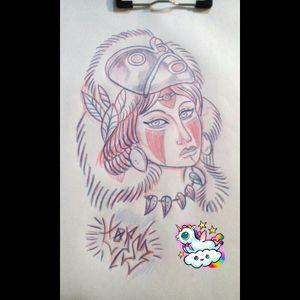 #sketch #princessmononoke