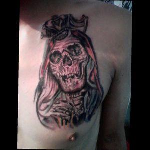 Vírgen realismo #tattoo #realism #tattoorealism