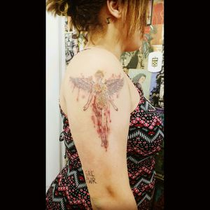 #InUtero tattoo #Nirvana #tattooaquarela #aquarela #fineline