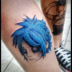 2D do Gorillaz terminado!! ✌ #Clandestinostattoo #bobdotwork #dotwork #dots #dot #dotworktattoo #dotworkers #pontilhismo #tatuagem #tattoo #tatt #tatted #tattoed #tattooedgirl #tattooedguys #tattooedman #inked #ink #inkedlife #inkedup #inkedgirls #inkedman #colorfulltattoo #colorfull #tatuadoresbrasileiros #mastersink #tattuagem #tattoo2me