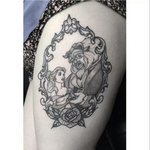 #beautyandthebeast #tattoo
