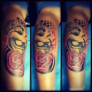 #tattoo #vforvendetta  #rose