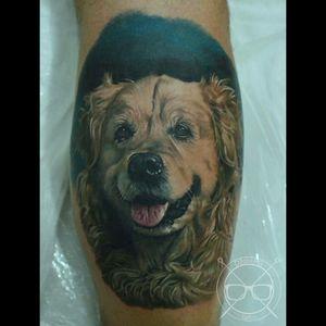#colour  #hiperrealism  #besttattoos  #dog  #dogportrait  #beautiful  #perfection  #animalhead  #animaltattoos #animal  #Lightsout
