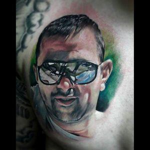 #tattoo  #portrait  #colour  #hiperrealism  #besttattoos  #superbtattoos #Lightsout