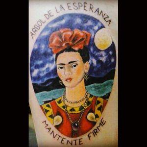 """Arbol de la esperanza mantente firme"" by Fran Rubio #mybody #strongwoman #fridakahlo #frida"