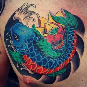 Another Cover-Up.. #tattoo #japanesetattoo #koytattoo #lotustattoo #tattooartist