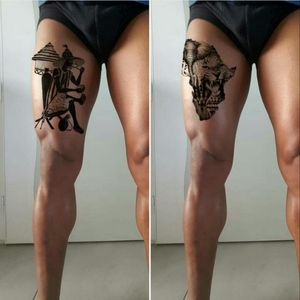"""#megandreamtattoo with a preference for the left one """"oldman makes clever"""""""