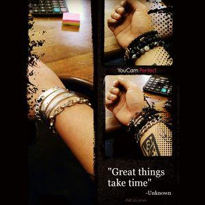 My vice...... Bracelets!