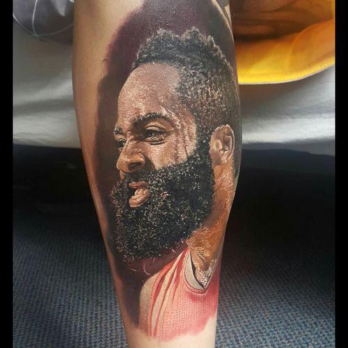 #portrait #portraitartist #artistportrait #dreamtattoo #tattoo #art #ink #nba #sports #SportsTattoo #Basketball #basketballtattoo #celebrity #celebritytattoos #hiperrealism #realism #realistic  #ColourPortrait #colour #pinning