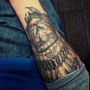 #Lion #tattoo #mexicantattoo #kingofthejungle #blackandgreytattoo