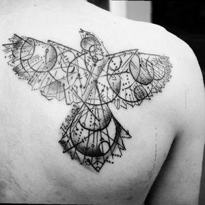 #Vogel #filigran #bird #firsttattoo #tattoo  #backtattoo #proudofmyink