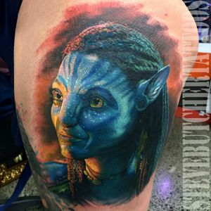 #ColourPortrait #avatar #movie #portrait #tattoo #ink #hiperrealism #hyperrealistic