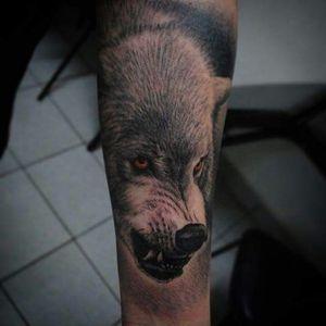 #wolf #wolves #tattoodo #electricink #tattoolife #inkedlife