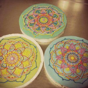 #mandala #lovemandala #cakes #colours #buenosaires #argentina