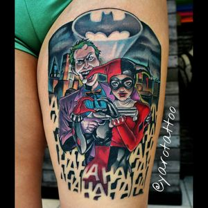 #joker #harleyquinn #comics #comic #batman #yaro #yarotattoo