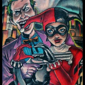 Detail #joker #harleyquinn #comics #comic #batman #yaro #yarotattoo