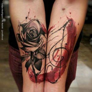 #forearm #talent #music #rose