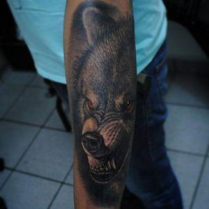 #wolf #tattoo #tattoos #tatoodo #electricink #texture #tattoolife #tattooer #tattooart #tattooartist #inked #ink #skinart #art #artist #blackandgrey #blackworktattoo #instalike #instattoo #artoftheday #instalike #instafollow #bodyart #darktattoo #darkart #barflytattoo