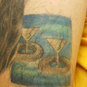 Floating and drinking, lazy river! Silver wood, ID. #anniversarysleeve 2!