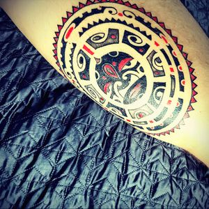 #tattoo #polinesiantattoo #redink