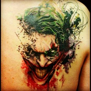 #Joker #green #red #evil #bestone #favorite #tattoo