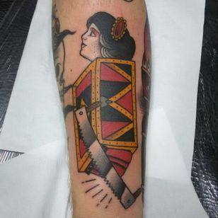 Circus #circus #circustattoo #traditionaltattoos #oldschooltraditional #customtattoos #classictattoos #tattoo #tatuagem #tattoos #tattooartist