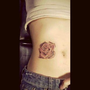 #multicoloured small #rose