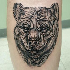 Abstract bear