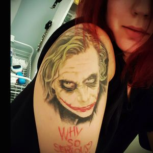 #whysoserious #thejoker #HeathLedger