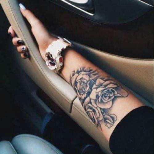 #handtattoo #roses #loveit