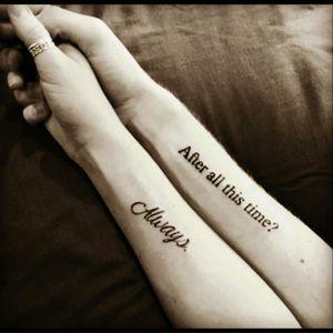 #tattooedcouple #couple #hp