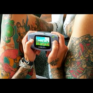 #retrogaming #Nintendo #nintendolife #GameBoy #gameboytattoo
