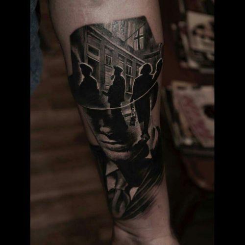 #realism #tattoo #silhouette #blackandgrey #blackwork #design #Tattoodo #storytelling