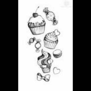 #megandreamtattoo for my next tattoo all I want is candy, girly stuff, cupcakes and a my little pony (90's).