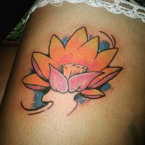 #loto #flower #lototattoo #flowertattoo #solidink