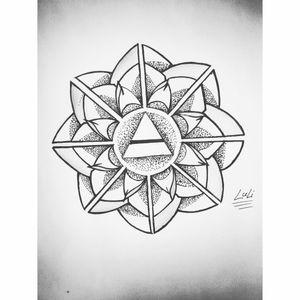#blacktatto #lovetattoos #tattoo #triangletattoo