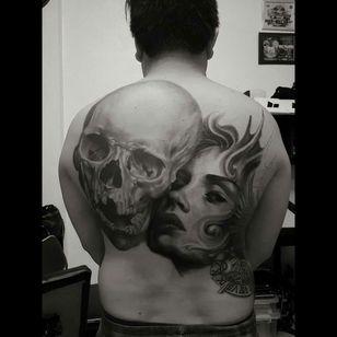 #onproccess #skull #tattoo #philippine