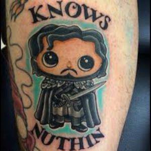 #gameofthrones #hahaha #jonsnow #tattoo