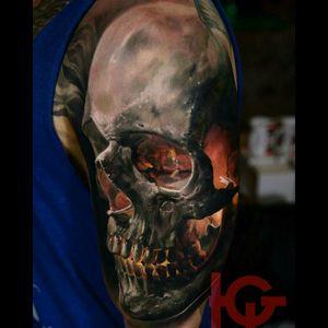 #scull #sculls #sculltattoo #dead #black #blackink #tattoo #Tattoodo #colorful #colortattoo #colorrealism #realistic #realism #dreamtattoo #inked #art #tattooart #ink #epic #skull #skull2016 #skul #skulladdict #SkullAgain #skullandbones #skullandfire #skullart #skullpiece #inked #tattooed #tattoos #megandreamtattoo #finework #brasil #best #perfect #bestskullever #skullcollector #skullhead #skulltattoo #skull