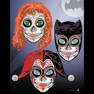 #megandreamtattoo Sugar skull versions of Gotham City Sirens 👌👌👌