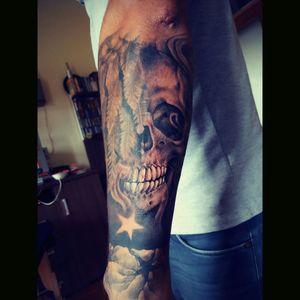 #halfsleeve #skull #Limitat
