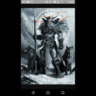 #megandreamtattoo #Odin #nordicmythology #